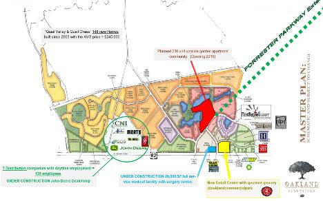 OAKLAND PLANTATION  A 850 acre Master Planned Community